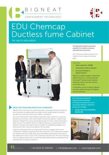 EDU Chemcap Ductless fume Cabinet