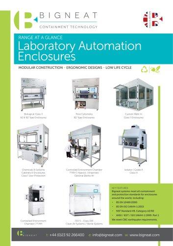 Laboratory Automation Enclosures