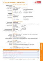 CLIMATE TRANSMITTER PFT28Ka - 2