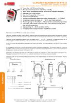 CLIMATE TRANSMITTER PFT30 - 1
