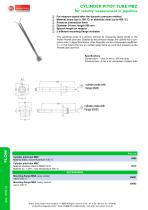cylinder pitot tube MBZ - cylinder pitot tube MBZ for velocity measurement in pipelines - 1