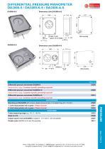 DA2000-S, DA2000-A-S, DA2000-K-S - differential pressure manometer - 2