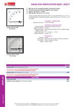 data sheet AQD / AQ72 - 1