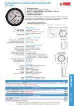 data sheet DA2000 - 1