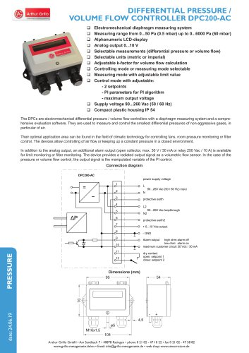 data sheet DPC200-AC