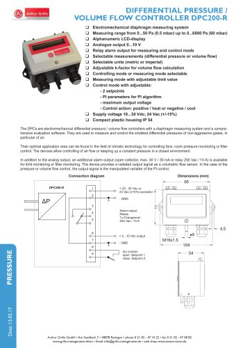 data sheet DPC200R