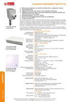 data sheet PFT25 series - 1