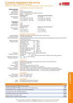 data sheet PFT30 - 2
