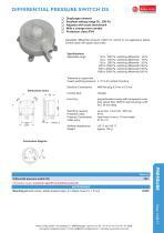 data sheet pressure switch - DS - 1
