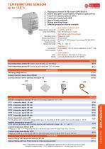 data sheet temperature sensors - 1