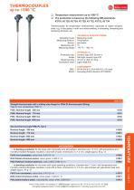 data sheet thermocouples - 2