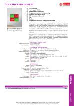 data sheet touchscreen - 1