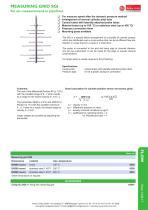 data sheets measuring grid - SGI - 1