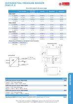 Differential pressure sensor DS85PE - 2