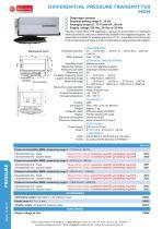DIFFERENTIAL PRESSURE TRANSMITTER MKM - 1