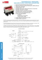 Differential pressure / Volume flow controller DPC200R - 1