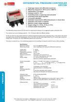 DPC200 - differential pressure / volume flow controller