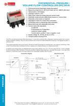 DPC200-R - differential pressure / volume flow controller - 1