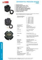 DS85 - differential pressure sensor - 1
