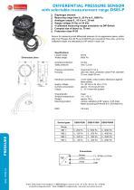 DS85-P - differential pressure sensor with selctable measurement range - 1