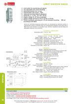 LIMIT SWITCH GS225 - 1
