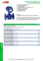 MID - magnetic inductiv flowmeter - 1