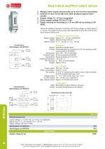 MULTIPLE-SUPPLY UNIT SP225 - 1