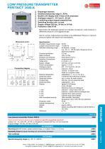 Peritact 2000-K - Low pressure transmitter - 1