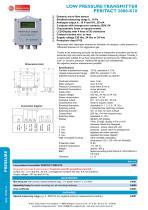 Peritact 2000-K10 - Low pressure transmitter - 1