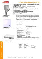 PFT25A, PFT25K, PFT25R - climate transmitter - 1