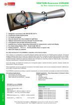 Venturi-flowmeter EVR2000 - 1