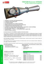Venturi-flowmeter EVR2000 - venturi-flowmeter for flow measurement in pipelines - 1