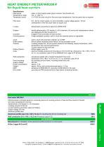 WR200-F - heat energy meter for liquid heat carriers - 2