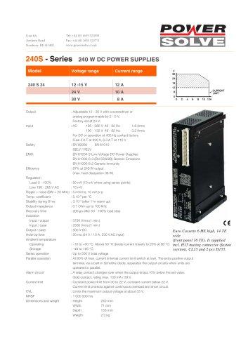 240S Series