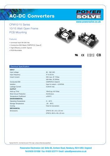 CFM10/15 Series