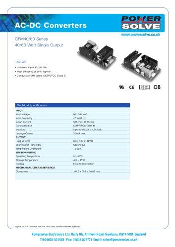 CFM40-60 Series