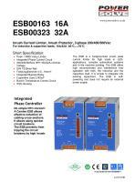 ESB00163 16A/ESB00323 32A - 1