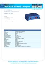 Lead Acid Battery Chargers - 1
