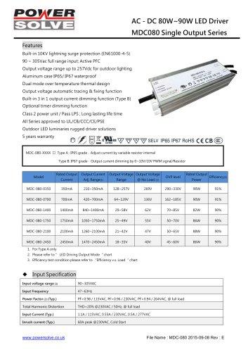 MDC080 AC