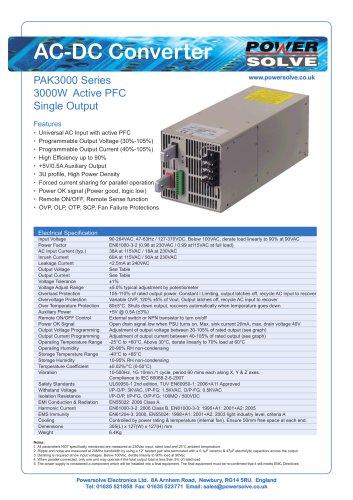 PAK3000 Series