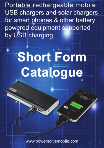 Power Banks Brochure