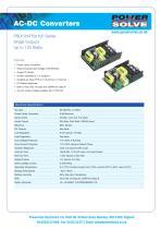 PSO100-PSU100 Series - 1