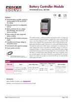 TRACOPOWER TSP-BCMU battery - 1
