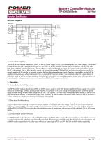 TRACOPOWER TSP-BCMU battery - 3