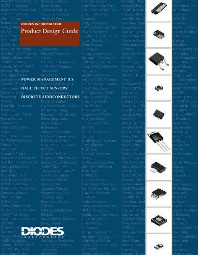 Diodes Product Design Guide