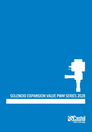 SOLENOID EXPANSION VALVE PWM SERIES 2028