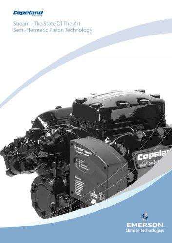 Copeland™ Stream Compressorsfor R744 Refrigeration