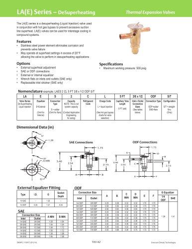 LA(E) Series - DeSuperheating