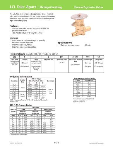 LCL Take-Apart - DeSuperheating