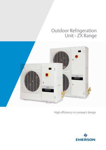 Outdoor Refrigeration Unit - ZX Range
